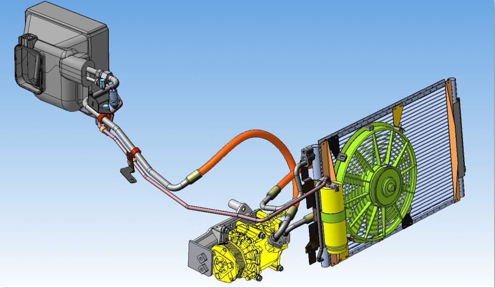 Как проверить герметичность кондиционера в машине своими руками приора 96