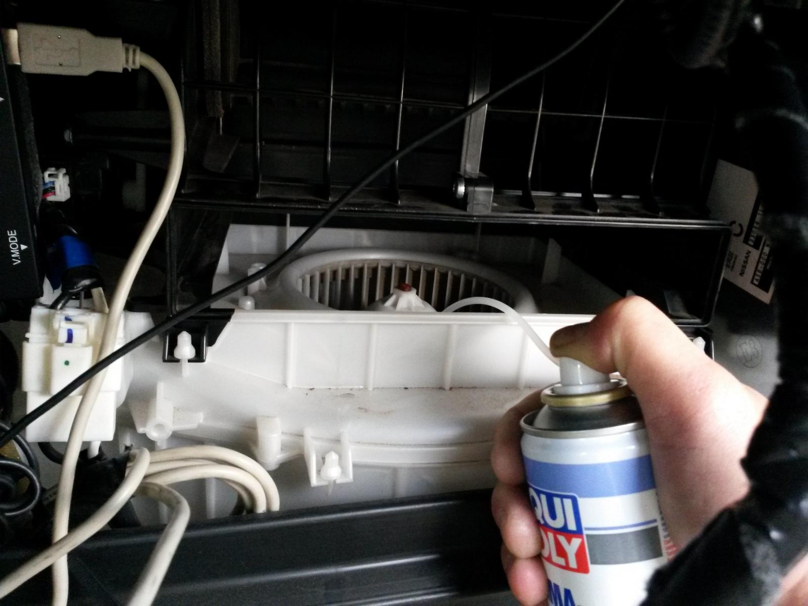 Промывка системы кондиционера авто своими руками