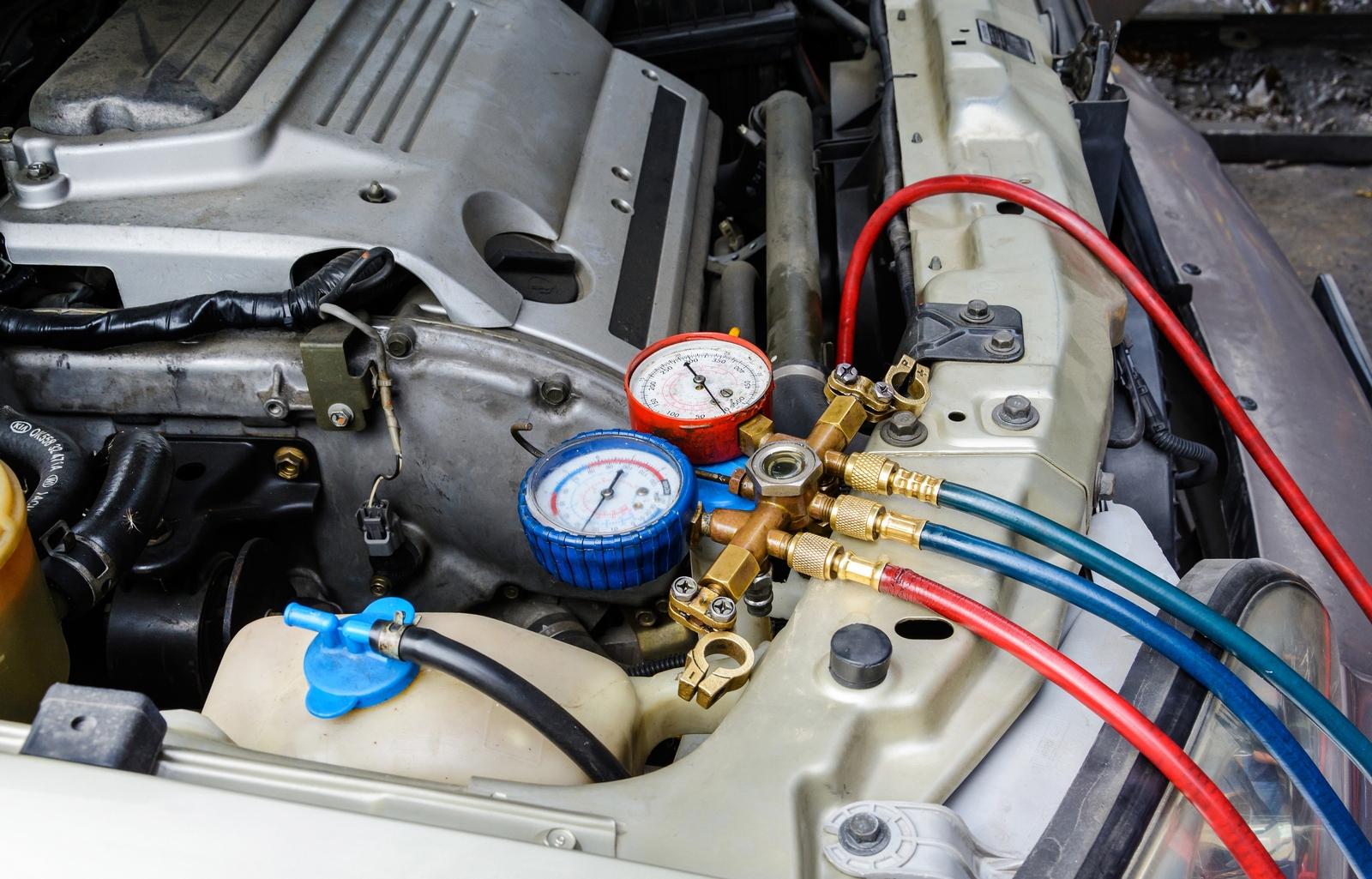 Профессиональная диагностика, ремонт и заправка кондиционера в машине