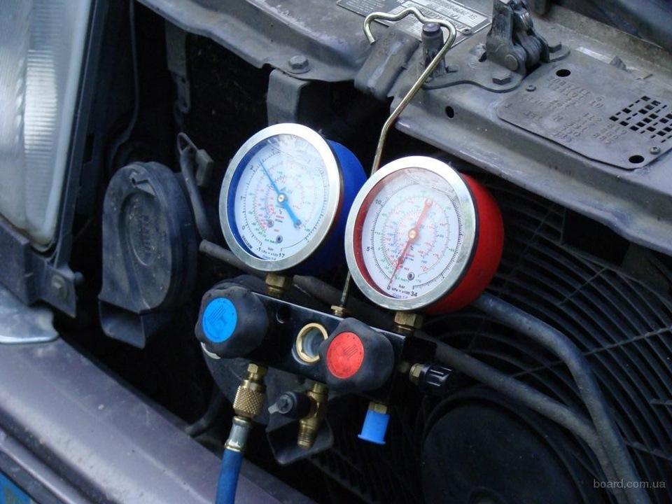 Диагностика автомобильного кондиционера