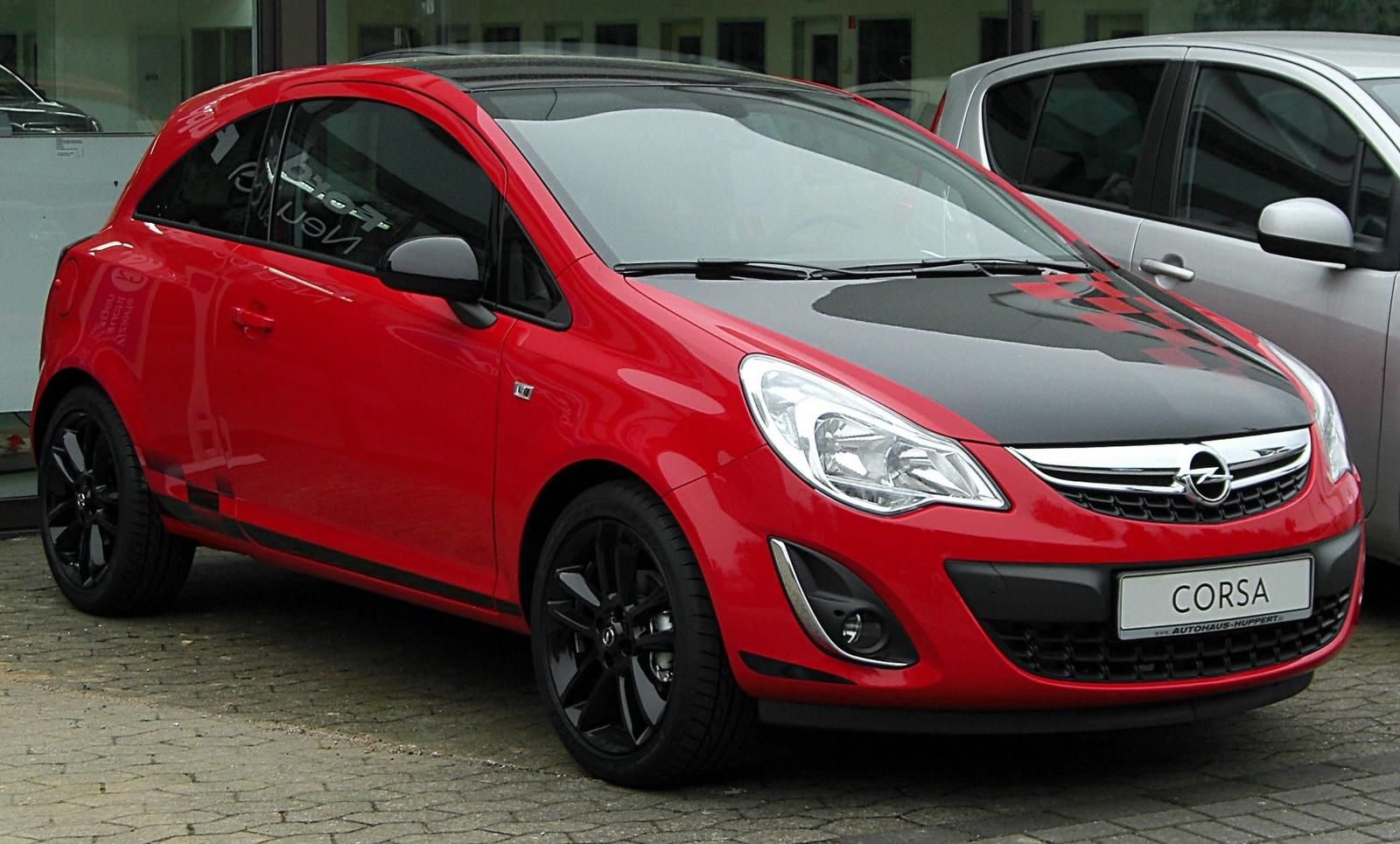 Компрессор кондиционера Opel Corsa D