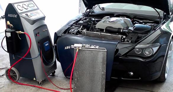 Промывка системы кондиционера автомобиля