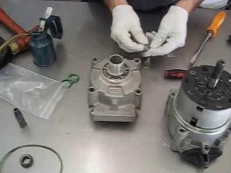 Переборка компрессора автокондиционера
