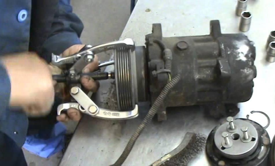 Ремонт компрессора авто