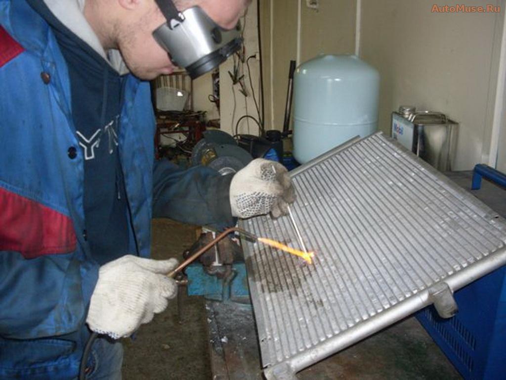 Ремонт радиаторов кондиционера