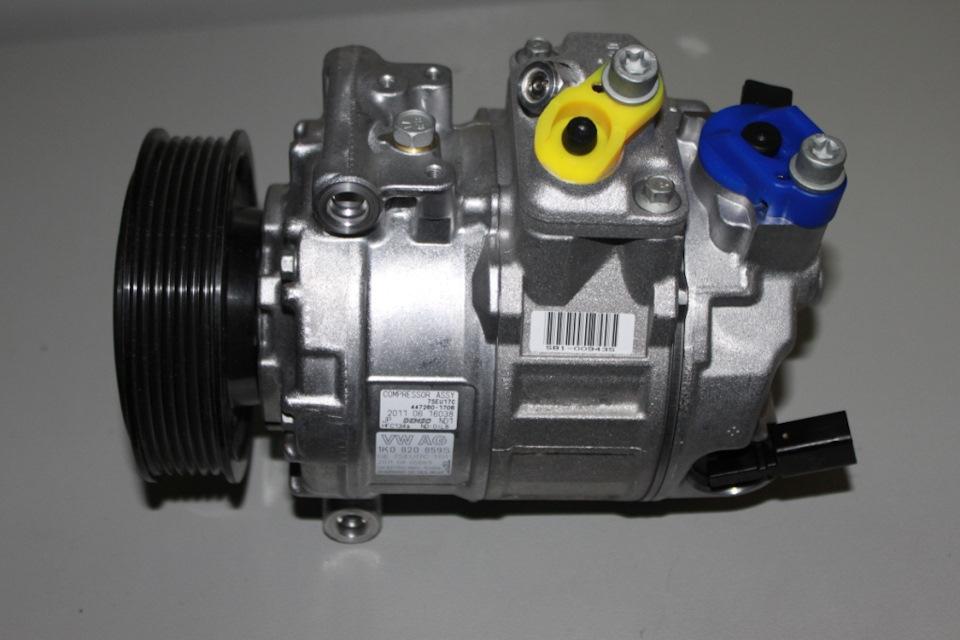 Замена компрессора кондиционера автомобиля: цена