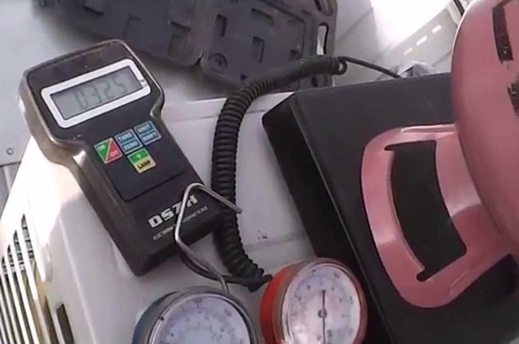 Заправка фреоном автомобильного кондиционера